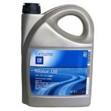 Моторное масло General Motors Dexos 2 5W-30 5л