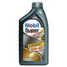 MOBIL SUPER 3000 X1 5W-40 A3/B4, SN/CF Масло моторное синт. (229.3, 502.00/505.00, ll-0) 1л