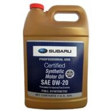 Моторное масло Subaru SYNTHETIC OIL 0W-20 3.78л