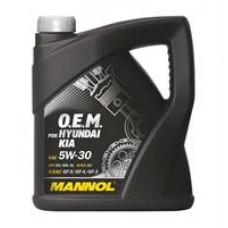 Моторное синтетическое масло Mannol 7713 O.E.M. for Hyundai Kia 5W-30
