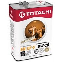 TOTACHI EXTRA FUEL FULLY SYNT SN 0W20 Масло моторное синт. (Япония) (4L)