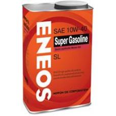 Моторное полусинтетическое масло Eneos SUPER GASOLINE SL 10W-40