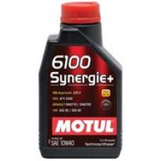 Моторное полусинтетическое масло Motul 6100 Synergie+ 10W-40