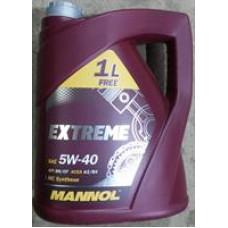 Моторное масло Mannol EXTREME 5W-40 5л