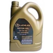 Моторное масло Toyota LEXUS 5W-40 4л