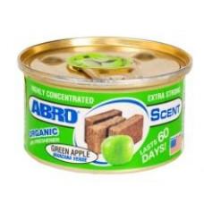 ABRO Освежитель воздуха organiс зелёное яблоко (0,042L)