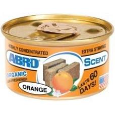 Освежитель Abro Освежитель воздуха в контейнере 'Органик' (апельсин)