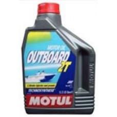 MOTUL OUTBOARD 2T TC-W3 Масло моторное минер. 2л