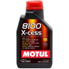 MOTUL 8100 X-CESS 5W40 GEN2, SN/CF, A3/B4 Масло моторное синт. 1л