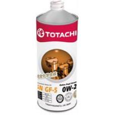 TOTACHI EXTRA FUEL FULLY SYNT SN 0W20 Масло моторное синт. (Япония) (1L)