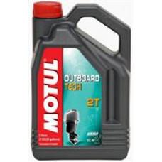 MOTUL OUTBOARD TECH 2T TC-W3 Масло моторное синт. 5л
