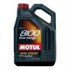 MOTUL 8100 ECO-CLEAN 0W30 C2,SN Масло моторное синт. 5л