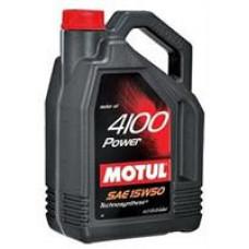 Моторное полусинтетическое масло Motul 4100 POWER 15W-50