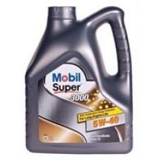 MOBIL SUPER 3000 X1 5W-40 A3/B4, SN/CF Масло моторное синт. (229.3, 502.00/505.00, ll-0) 4л