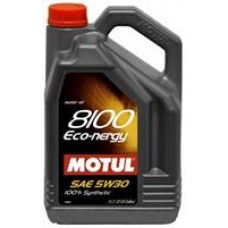 MOTUL 8100 ECO-NERGY 5W30 SL/CF, A5/B5 Масло моторное синт. 5л