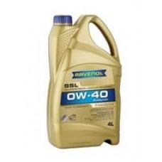 Моторное масло Ravenol Super Synthetik Oel SSL 0W-40 4л