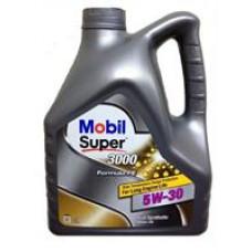 MOBIL SUPER 3000 X1 Formula FE 5W30 SL/CF, A5/B5 Масло моторное синт. 4л