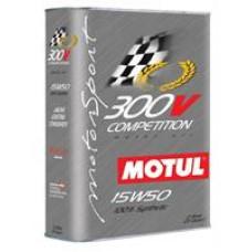 MOTUL 300V COMPETITION 15W50 4T Масло моторное синт. 2л