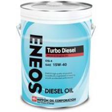 Минеральное масло Eneos TURBO DIESEL CG-4 15W-40 20л