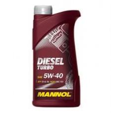 Моторное масло Mannol DIESEL TURBO 5W-40 1л