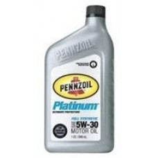 Моторное масло Pennzoil Platinum Full Synthetic Motor Oil 5W-30 0.946л