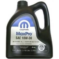 Минеральное масло Chrysler MaxPro 10W-30 3.785л