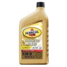 Моторное масло Pennzoil Synthetic Blend Motor Oil 5W-30 0.946л