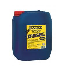 Минеральное масло Ravenol Formel Diesel Super 15W-40 10л