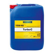 Минеральное масло Ravenol Turbo-C HD-C 15W-40 20л