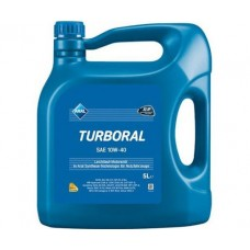 Моторное минеральное масло Aral Turboral 10W-40