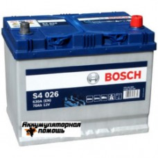 BOSCH S4 70 (026) яп.ст/бортик