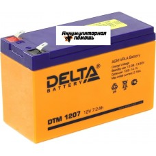 DELTA DTM-1207 (12V7,2A)