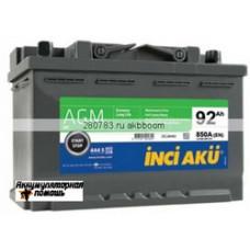 Inci Aku AGM S&S 6СТ-92 (о.п.)