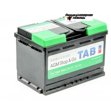 TAB AGM Stop&Go 6СТ-70