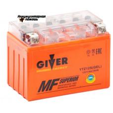 GIVER ENERGY 12V/11Ач (YTZ12S) GEL