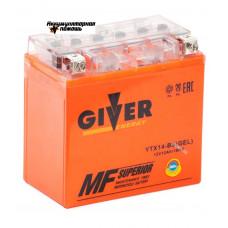 GIVER ENERGY 12V/12Ач (YTX14-BS) GEL