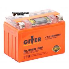 GIVER ENERGY 12V/11Ач (YTZ12S) DS- iGEL