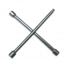 Ключ баллонный крестовой  AVS CWW-1, 17x19x21x1/2 мм