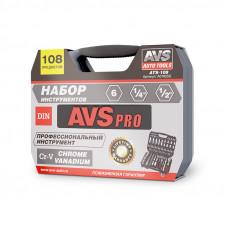 Набор инструментов 108 предметов AVS ATS-108