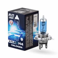 Лампа галогенная AVS ATLAS BOX /5000К/ H4.12V.60/55W (1 шт.)