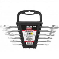 Набор ключей гаечных рожковых на держателе (8-19 мм) (6 предметов) AVS K1N6P