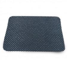 Противоскользящий коврик (чёрный) 19х22 см AVS-113A