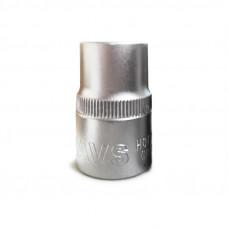 Головка торцевая 6-гранная 1/2''DR (15 мм) AVS H01215