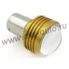 T15 S031B /белый/ (BAY15D) HIGH POWER 5W 2 contact, блистер 1 шт