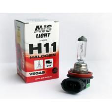 Лампа галогенная AVS Vegas H11.24V.70W (1 шт.)