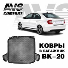 Коврик в багажник 3D Skoda Rapid (2013-) (с