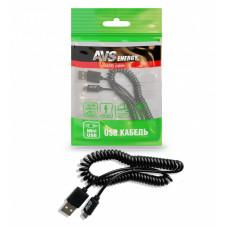 Кабель AVS mini USB (2м, витой) MN-32
