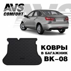 Коврик в багажник 3D Lada Vesta SD (2015-) AVS BK-08