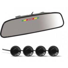 Парктроник AVS PS-164U (4 датчика, Зеркало + LED Дисплей)