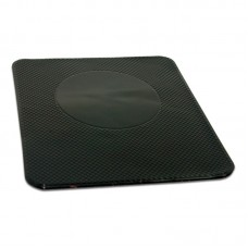 Противоскользящий коврик NANO (чёрный) 14х16 см AVS NP-015